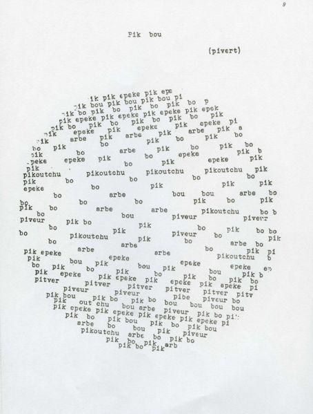 Pierre Garnier: ενα ποιημα σε πικαρδική διάλεκτο