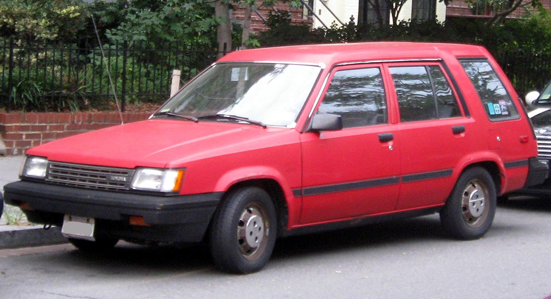 1985 Toyota Tercel 4wd Wagon