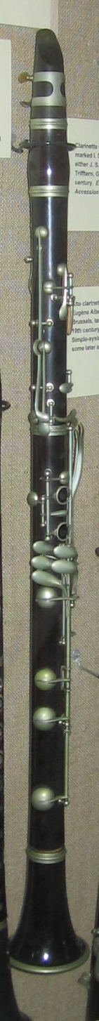Basset clarinet in A, anonymous, perhaps Frenc...