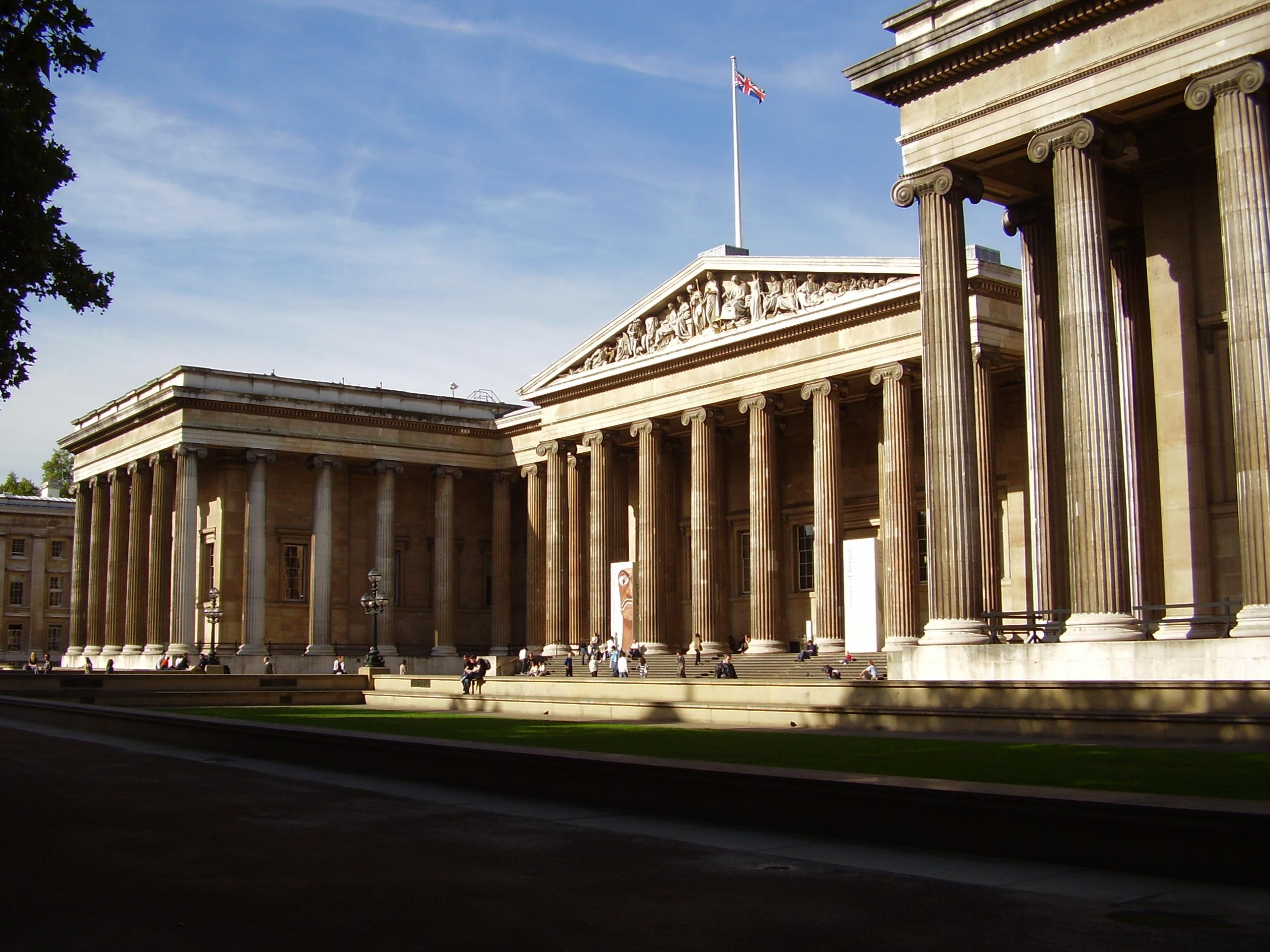 El British Museum, muy a mano ... para los londinenses