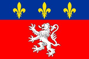 Flag of Lyon Español: Bandera de Lyon Nederlan...