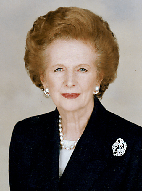 Margaret Thatcher cropped1 Womens No Iron Blouses