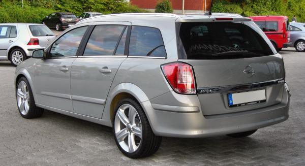File:Opel Astra H Caravan 1.9 CDTI rear.JPG - Wikipedia ...