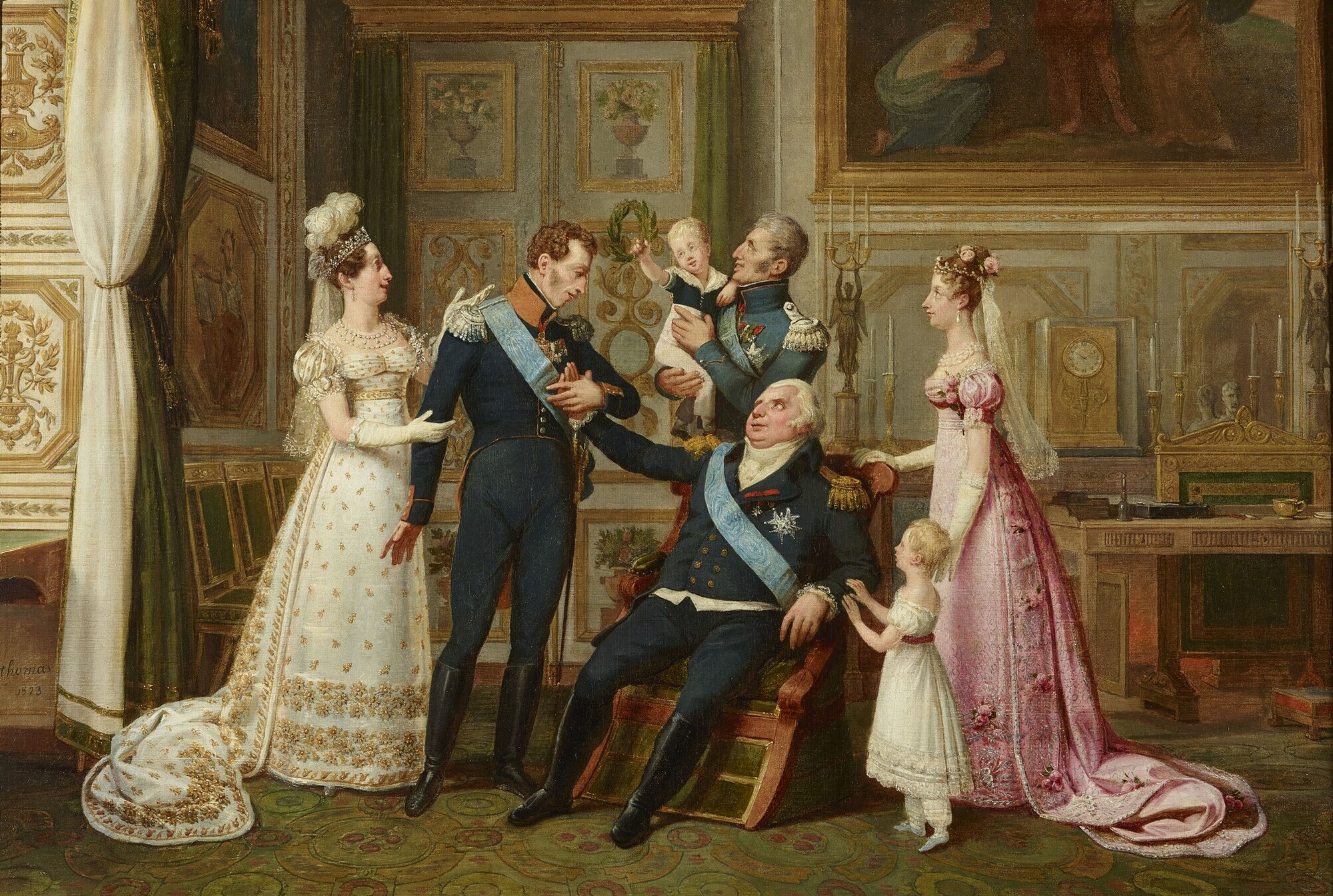 File The French Royal Family In
