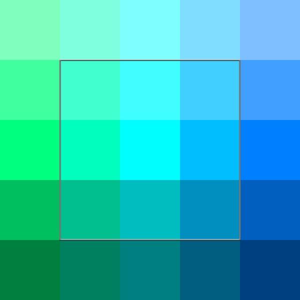 Сине-зелёный цвет — Википедия