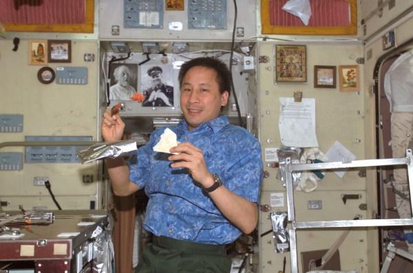 File:Ed Lu iss007e14285 on board the Internatinal Space ...