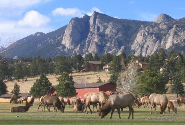The tramway is still owned and operated by the heron family. Estes Park Colorado Wikipedia