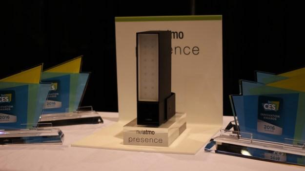Présence de Netatmo pour l'éclairage extérieur