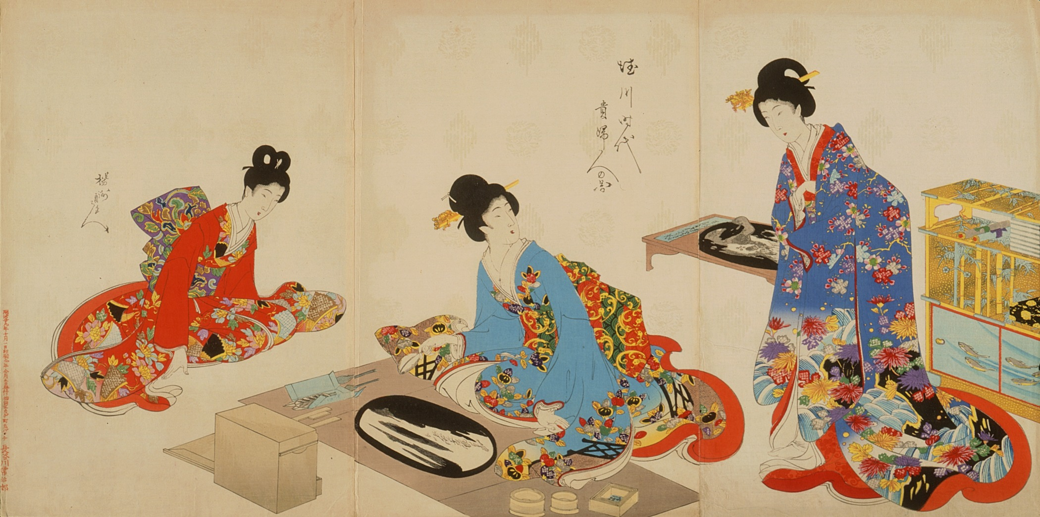 File Women S Activities Of The Tokugawa Era Creating