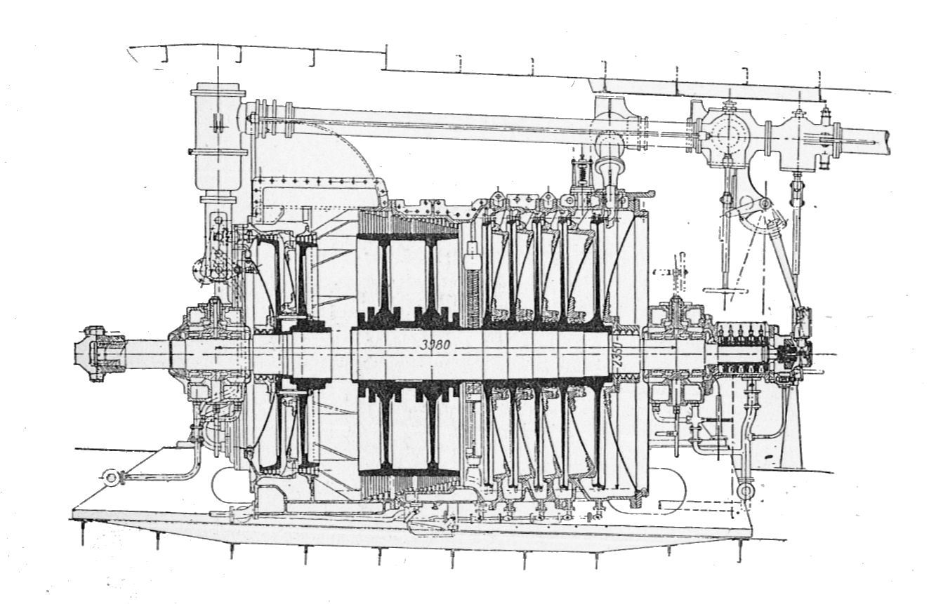 File Aeg Marine Steam Turbine Rankin Kennedy Modern