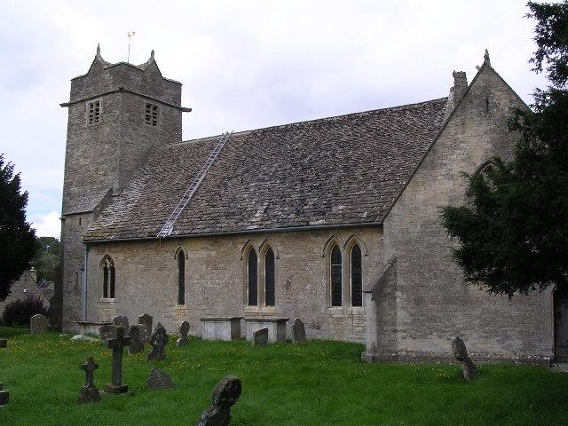 St. Mary's Barnsley Gloucestershire