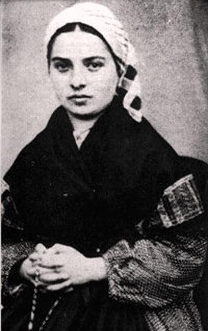 St. Bernadette Soubirous of Lourdes.