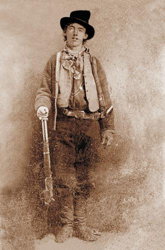 Billy the Kid (1859 - 1881) - the famous criminal, a murderer, one of the symbols the Wild West.