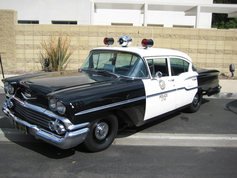 1958 chevrolet cars » File LAPD Classic Cruiser 1958 Chevrolet West Valley Station jpg     File LAPD Classic Cruiser 1958 Chevrolet West Valley Station jpg