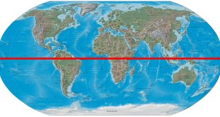 Image result for map of earth equator