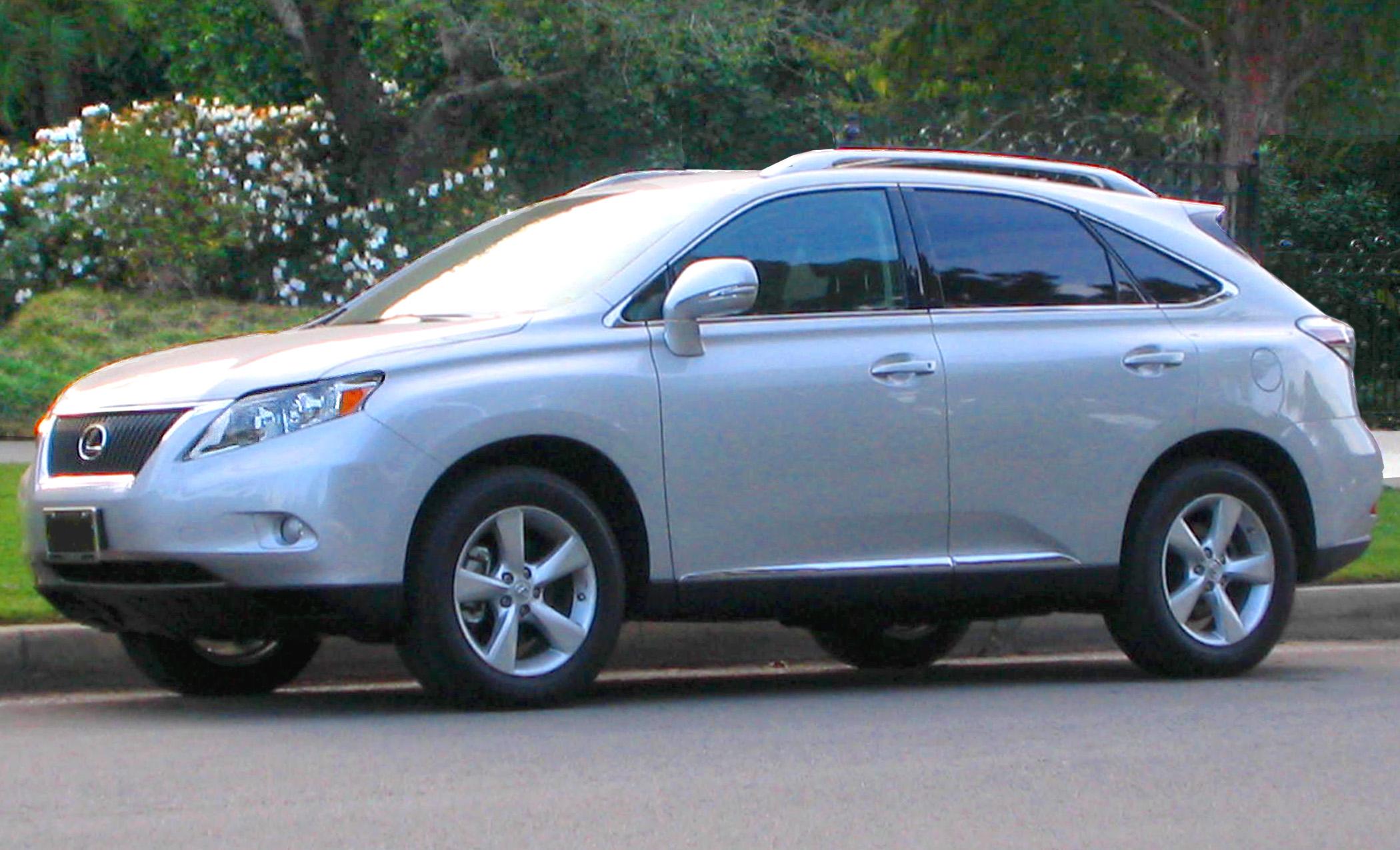 File 2010 Lexus RX350 Tungsten Pearl 01 Wikimedia mons