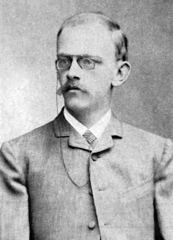 German mathematician David Hilbert, 1886
