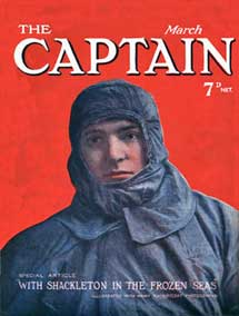 Captain, March 1917, Cover of the popular Engl...