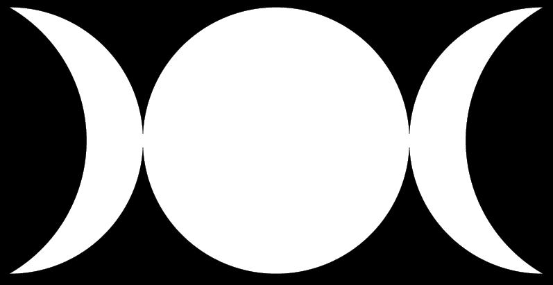 Triple lune wiccane