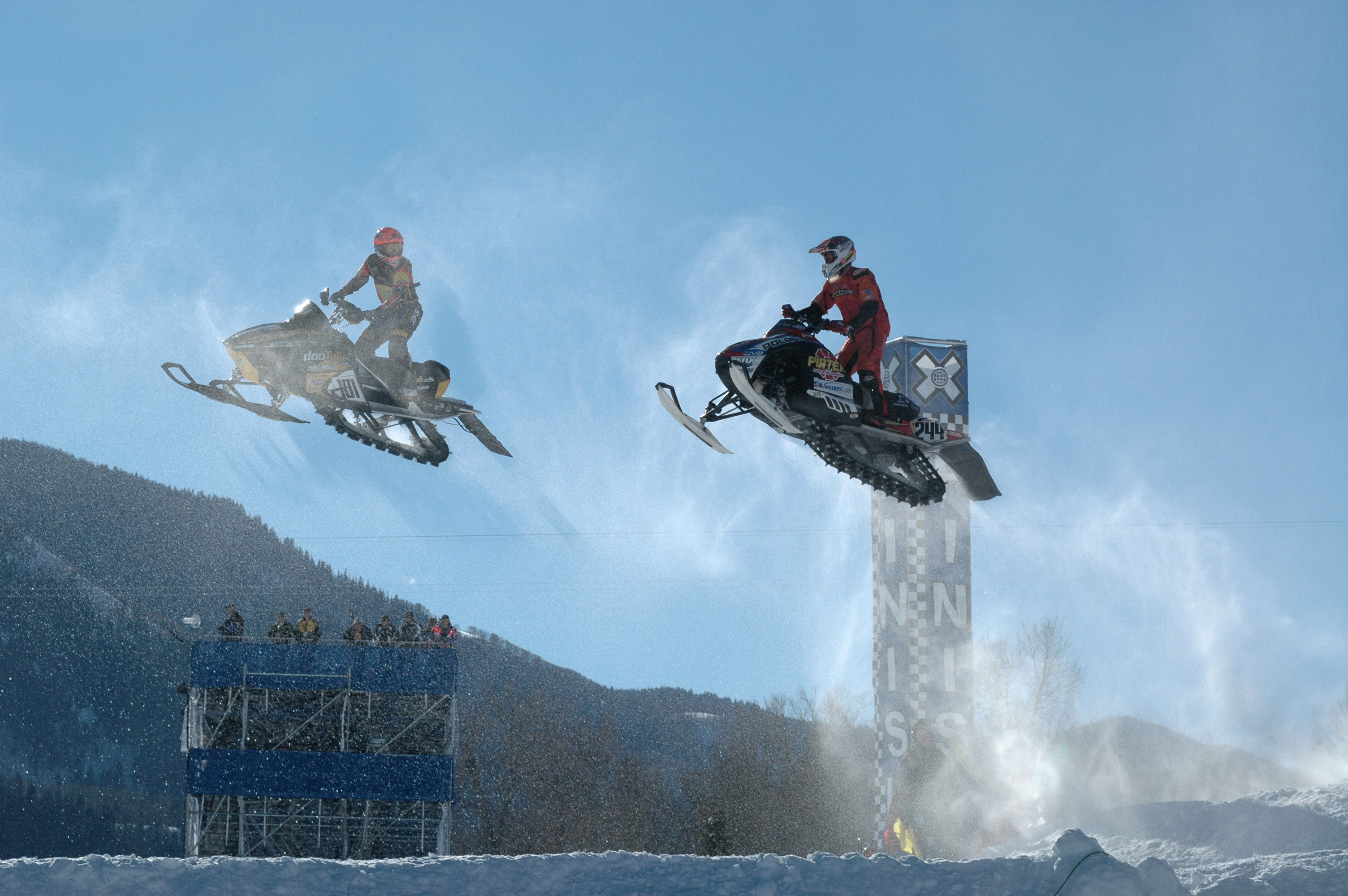 Snowmobile Stunt, Attribution: Arthur Mouratidis