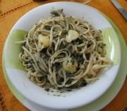 historia y diversidad de la cocina de Liguria: Bavette al pesto
