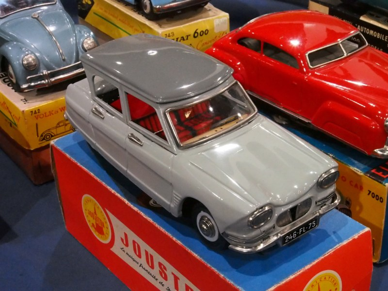 1960 chevrolet cars » Model car   Wikipedia Citroen Ami 6 sedan pressed tin toy from Joustra of France