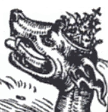 The Dragon of Revelation Wearing the Papal Tia...