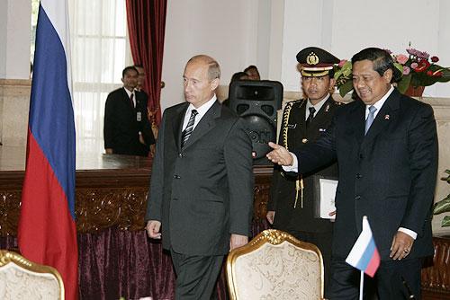 Filevladimir Putin With Susilo Bambang Yudhoyono  Jpg