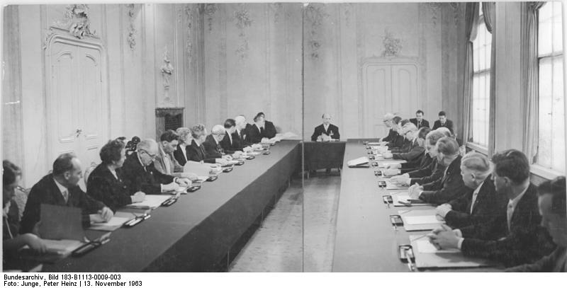 Inaugural Meeting of the Council of State of the GDR