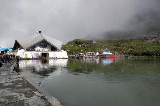 Gurudwara Shri Hemkund Sahib, Chamoli, Uttarakhand, India.