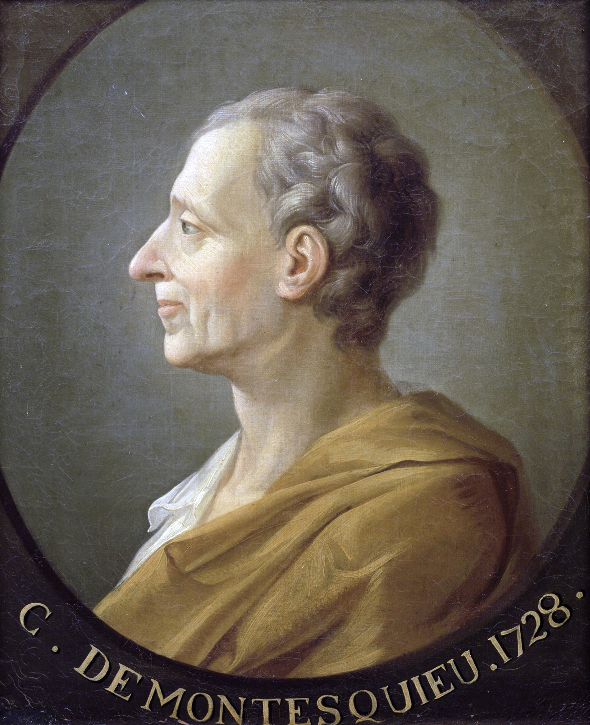 Portrait of Montesquieu (1689-1755). Author Unknown (French School).
