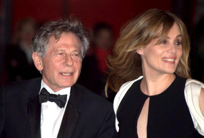 English: Roman Polanski and Emmanuelle Seigner...