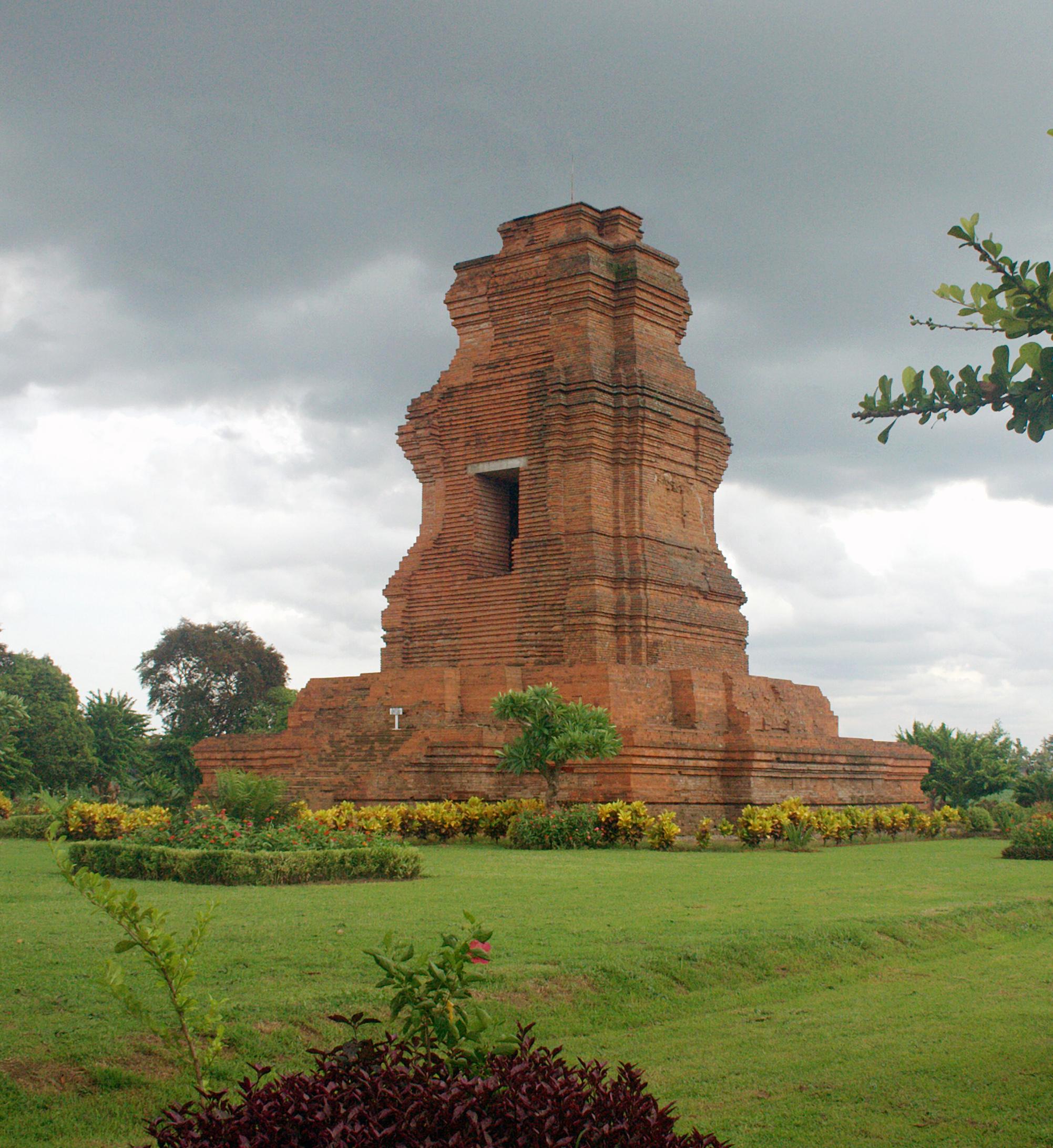 English: Brahu temple at Trowulan archaeologic...