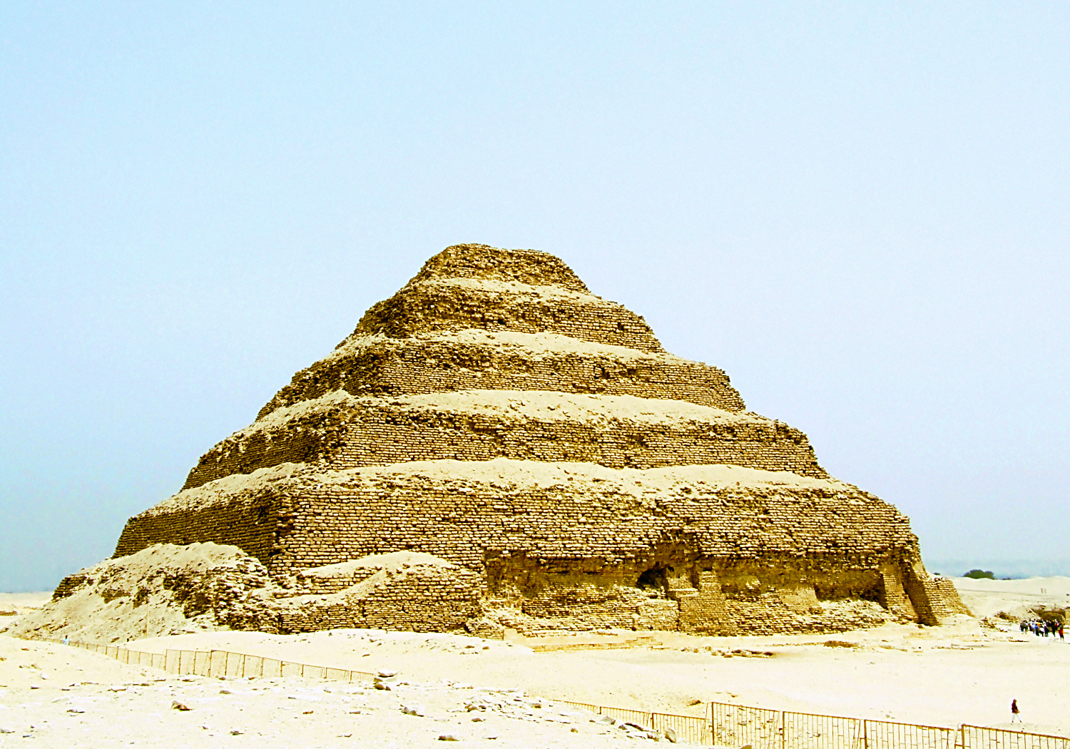Pyramid at Sakkara