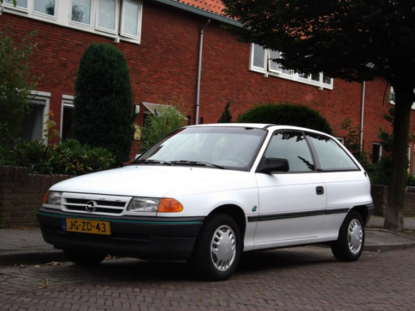 Opel Astra F – Wikipedia, wolna encyklopedia