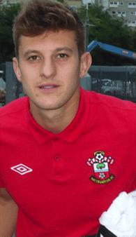 Adam Lallana Southampton FC Manchester United 2012,13.png