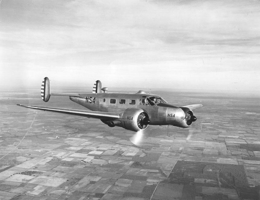 Beechcraft Model 18 Wikipedia