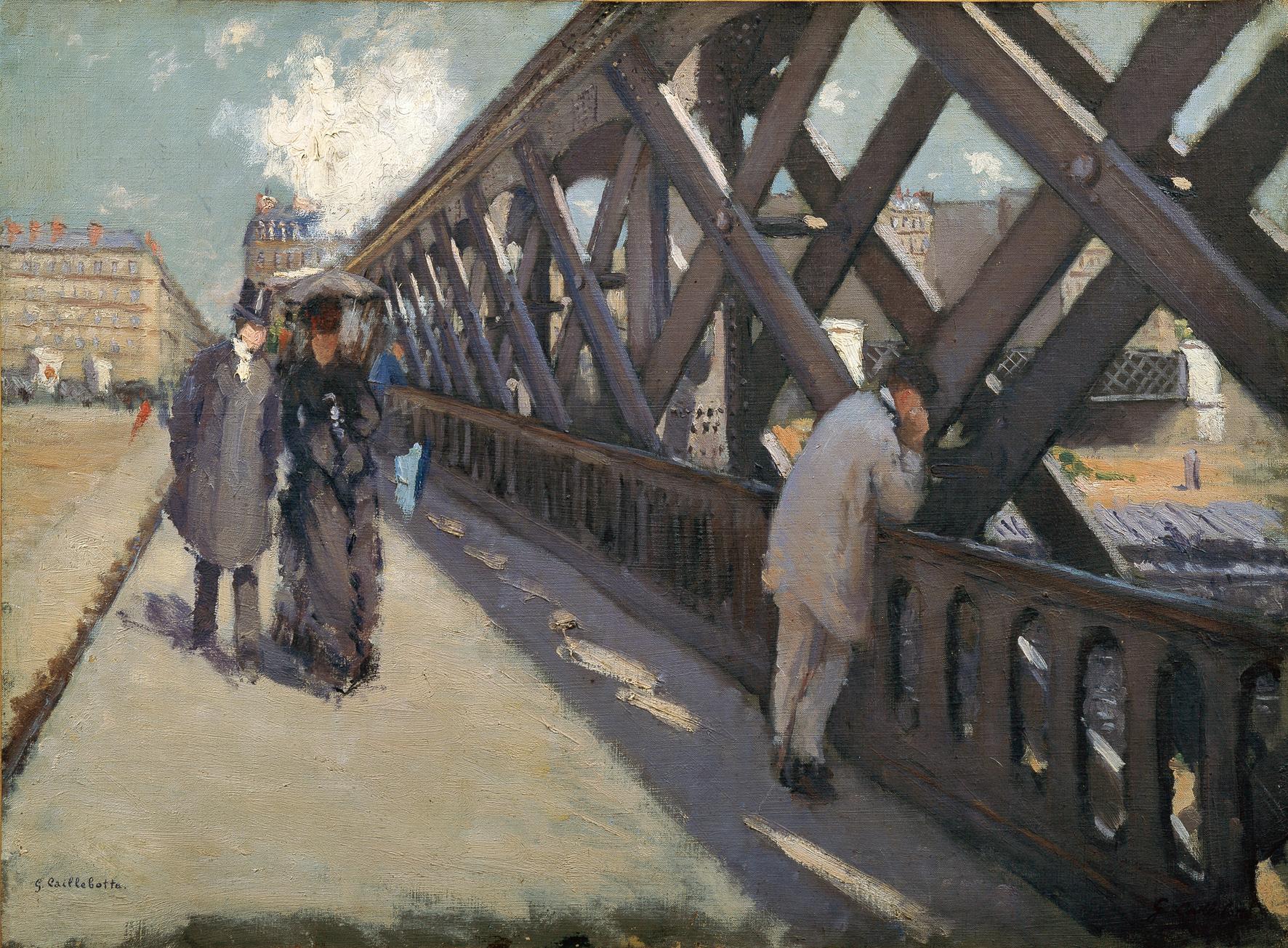 Caillebotte - Pont de l'Europe