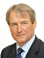 Owen Paterson, Secretary of State for Environment, Food and Rural Affairs, denier of manmade climate change and an enthusiastic supporter of GM crops.