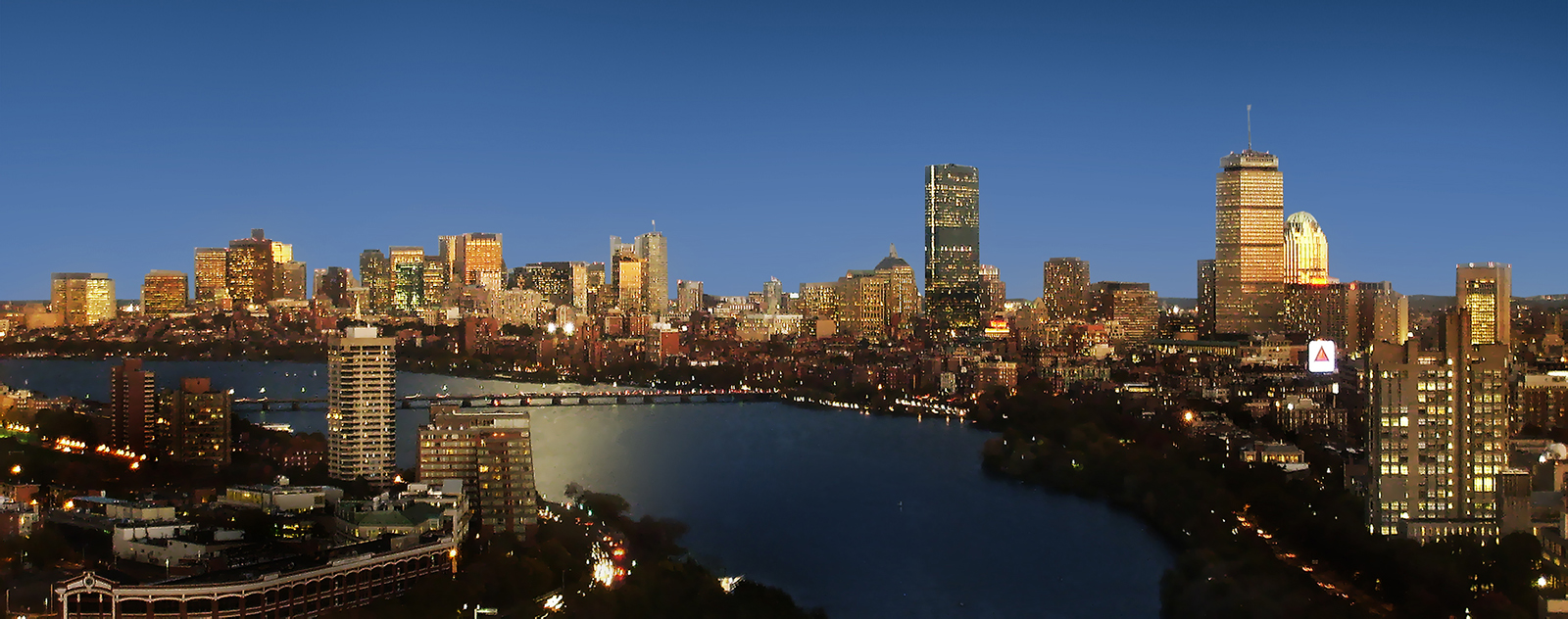 Henry Han's Boston as seen from the 26th floor of Student Village II at Boston University