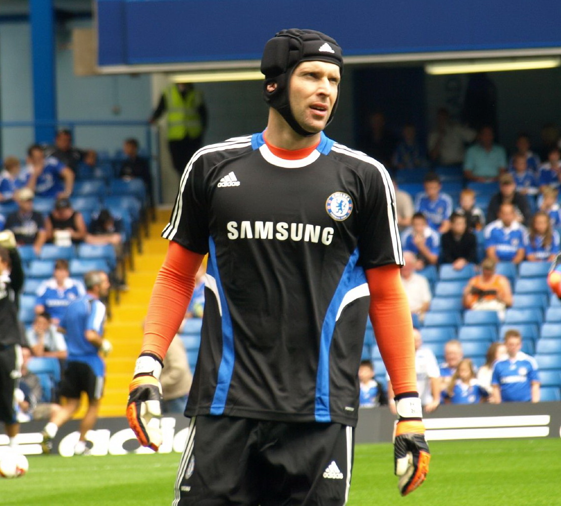 Petr Cechs suspension could have dire affects on Chelseas chances to win on Sunday against Liverpool. His prescene in net is huge for the Blues; he solidifies their strong backline.  (Courtesy Wikicommons.