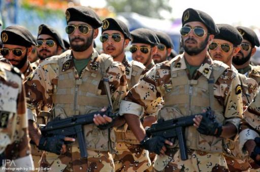 The iranian military march