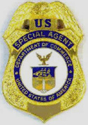 US Commerce Department badge