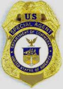 US Commerce Department badge