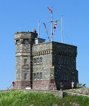 Cabot Tower, Signal Hill Park, St. John's, New...