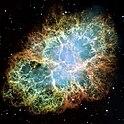 Krebsnebel, Aufnahme des Hubble-Weltraumteleskops