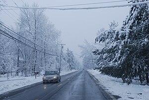 February 26, 2010 snowstorm Dutchess County 24