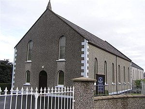 English: Fintona Presbyterian Church. It is lo...