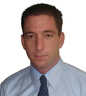Portrait of Glenn Greenwald -creator of Unclai...