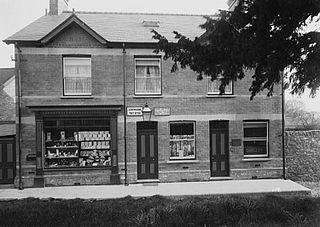 Leintwardine post office and veterinary surgery